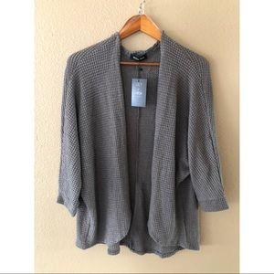 LilyandGypsy Sweaters - Waffle knit open front cardigan